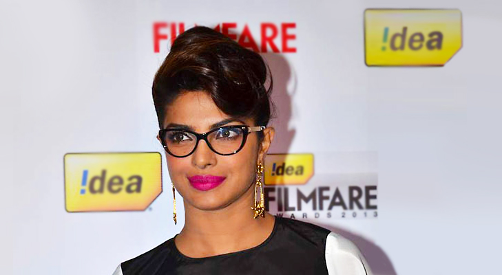 Cat Eyed Frames for Priyanka Chopra's Round Face @TheRoyaleIndia
