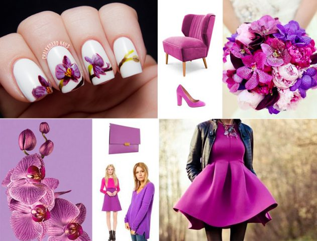 Colour of the year 2014! - Radiant Orchid @TheRoyaleIndia