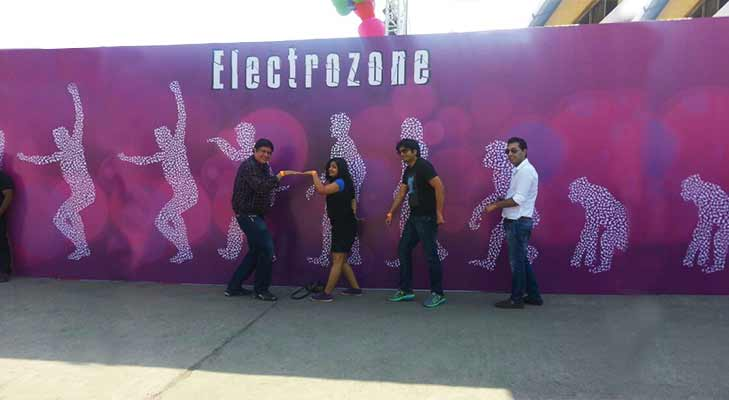 Sula Fest Electrozone @TheRoyaleIndia