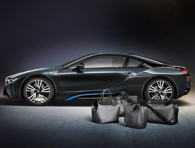 Louis Vuitton Custom baggage