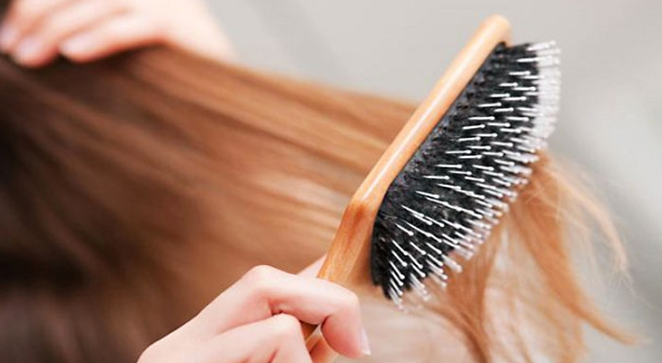 how to clean natural bristle hair brush