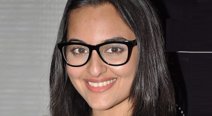 Oversized frames for Sonakshi Sinha's Oval face @TheRoyaleIndia