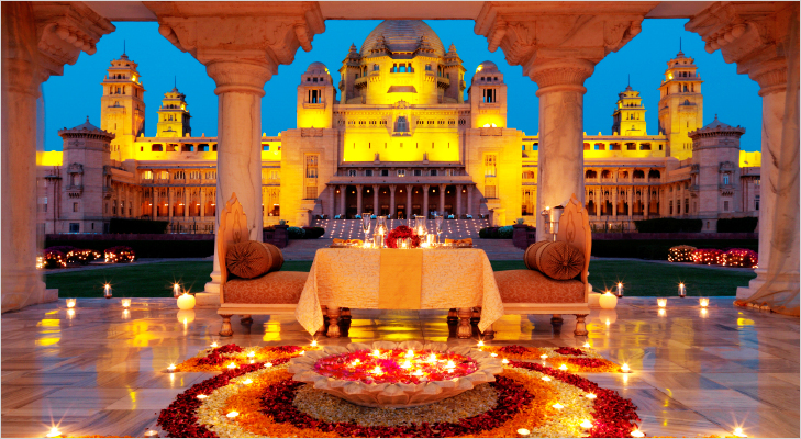 Umaid Bhavan at Jodhpur on Valentine's @TheRoyaleIndia