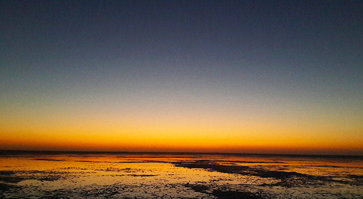 White Rann Of Kutch Sunset @TheRoyaleIndia