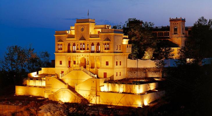 Ananda Palace at Himalayas @TheRoyaleIndia