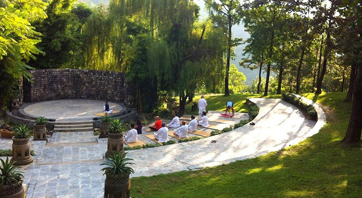 Experience Yoga at Ananda in the Himalayas @TheRoyaleIndia