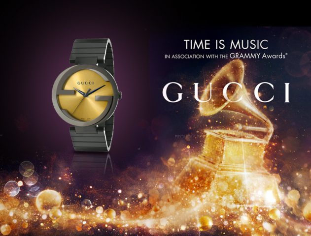 Gucci unveils special edition watches inspired by Grammy Awards @TheRoyaleIndia