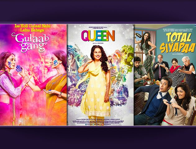 Interesting clash ahead with Gulaab Gang, Queen and Total Siyapaa