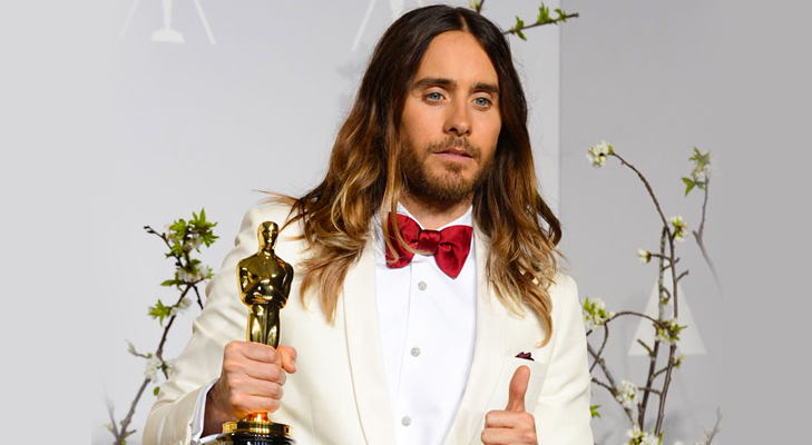 Jared Leto Won Oscar 2014 for Best Actor in a Supporting Role @TheRoyaleIndia