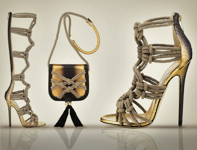 Jimmy Choo unveils rope-themed collections for Spring/Summer 2014 @TheRoyaleIndia
