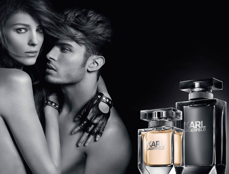 Karl Lagerfeld debuts in the world of Perfumes with two new fragrances for 2014 @TheRoyaleIndia
