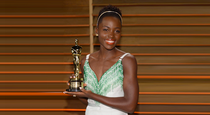 Lupita Nyong'o is an Academy Awards for Best Actress in Supporting Role @TheRoyaleIndia