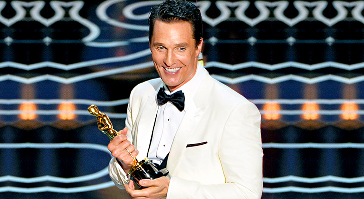 Matthew McConaughey Best Actor at Oscars 2014 @TheRoyaleIndia