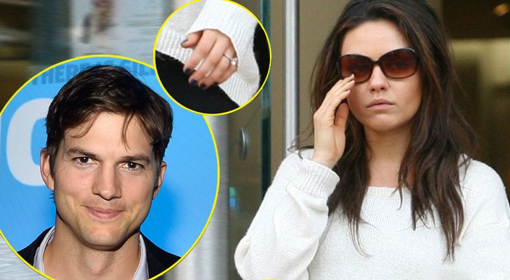 Mila Kunis and Ashton Kutcher engaged News @TheRoyaleIndia