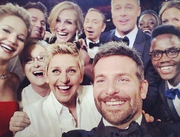 86th Academy Awards, Oscar 2014, Winners Selfie @TheRoyaleIndia