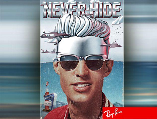 Ray-Ban Clubmaster Aluminium Sunglasses @TheRoyaleIndia