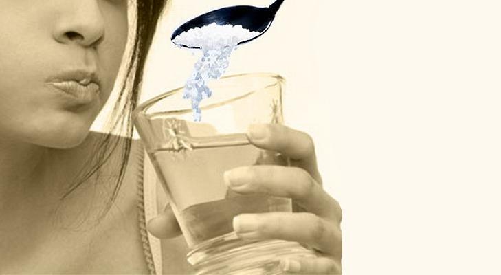 Salt Water Gargle @TheRoyaleIndia
