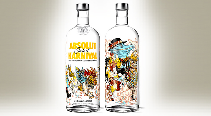 absolut karnival vodka @TheRoyaleIndia