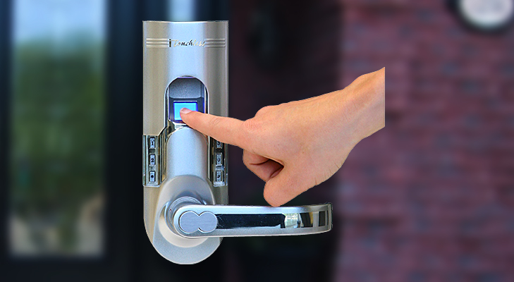 Biometric door lock @TheRoyaleIndia