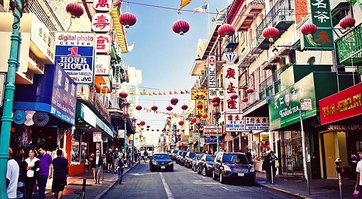 San Francisco Chinatown @TheRoyaleIndia