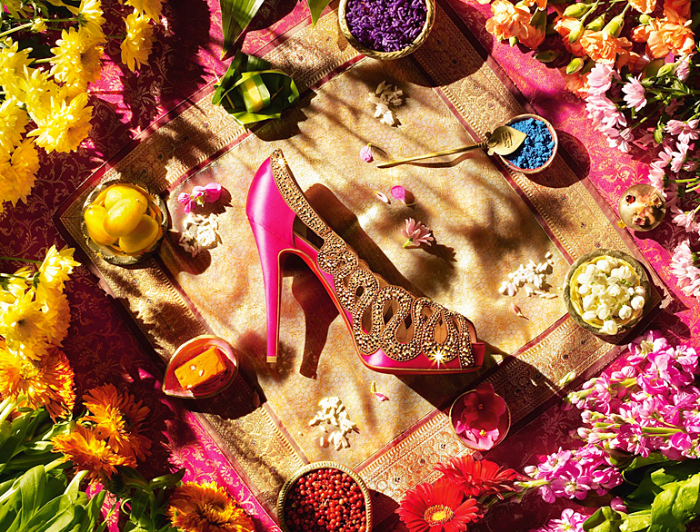 Customised Wedding Shoes by Christain Louboutin @TheRoyaleIndia