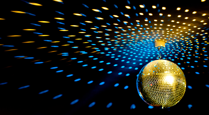 disco ball for party @TheRoyaleIndia