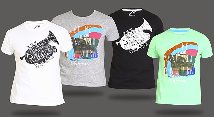 menswear tees with graphic print @TheRoyaleIndia
