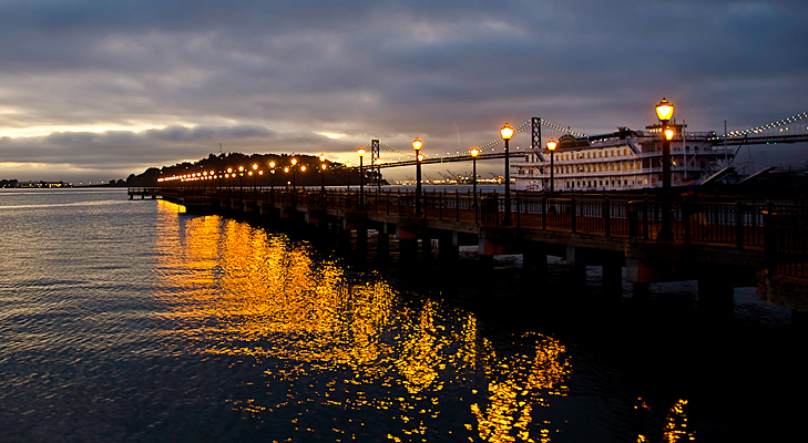 Night view of San Francisco Bay @TheRoyaleIndia