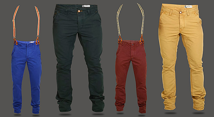 stylish chinos for men with cool suspenders @TheRoyaleIndia