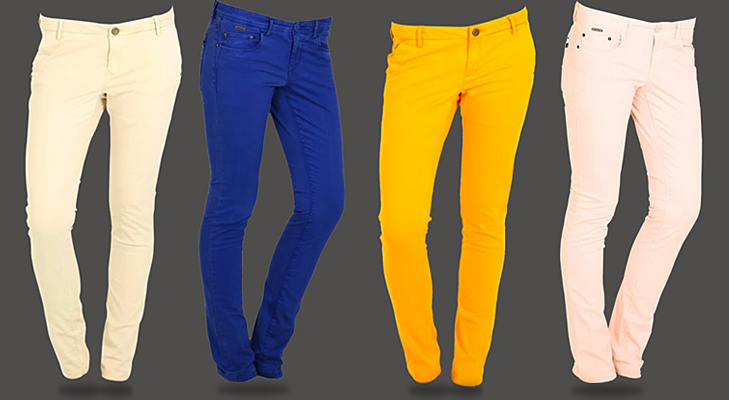 vibrant chinos for women @TheRoyaleIndia