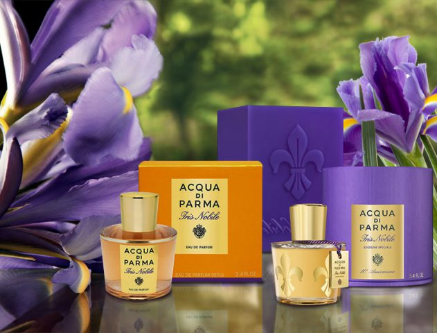 Acqua di Parma launches special edition Iris Noble perfumes and candle @TheRoyaleIndia