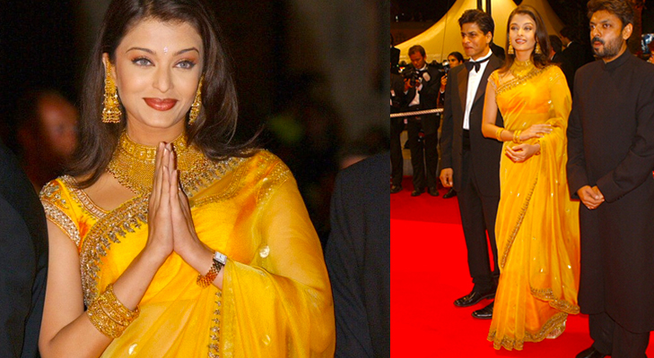 aishwarya rai cannes 2002 @TheRoyaleIndia