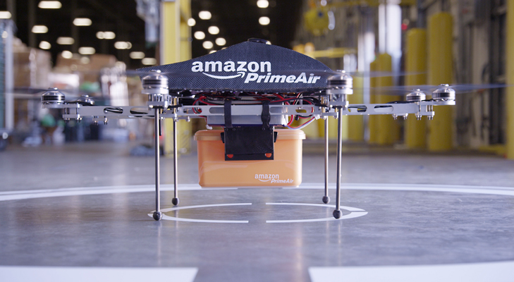 amazon drone @TheRoyaleIndia