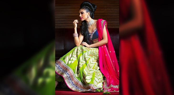 Green Bridal Wear @TheRoyaleIndia