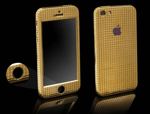 iphone goldgenie @TheRoyaleIndia