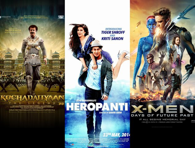 X-Men: Days of Future Past, Heropanti and Kochadaiiyaan @TheRoyaleIndia