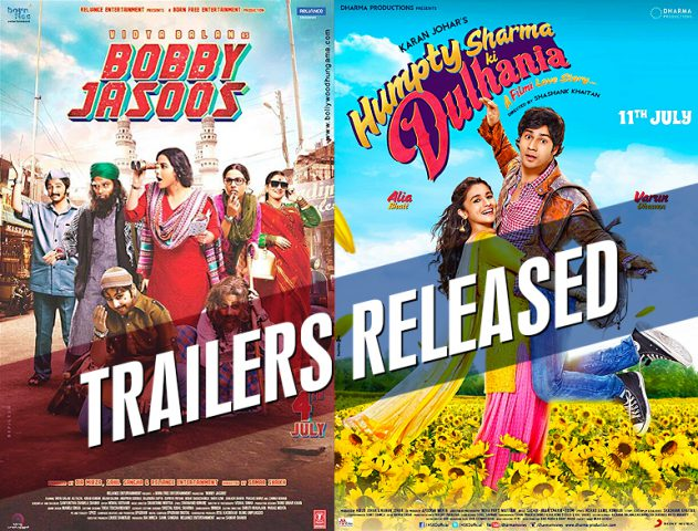 Bobby Jasoos Humpty Sharma ki Dulhania trailers @TheRoyaleIndia