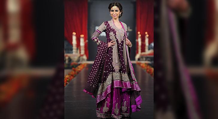 Purple Bridal Wear @TheRoyaleIndia