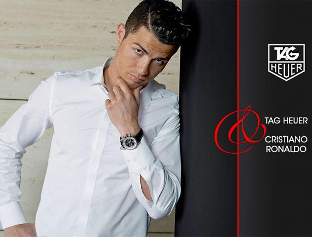 Numero Uno Cristiano Ronaldo – Brand Ambassador for TAG Heuer @TheRoyaleIndia