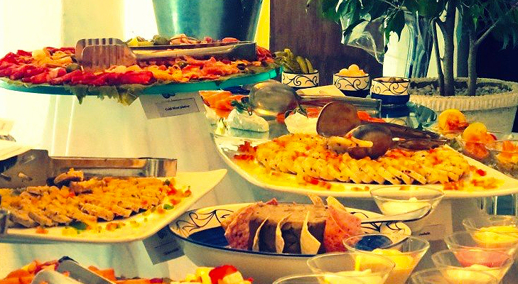 sunday brunch fare at the olive @TheRoyaleIndia
