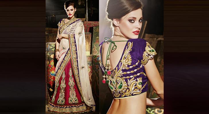 velvet indian bridal wear @TheRoyaleIndia
