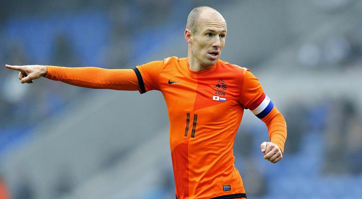 Arjen Robben @TheRoyaleIndia