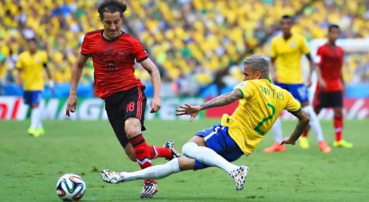 Brazil vs Mexico @TheRoyaleIndia