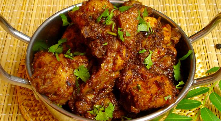 Chicken chettinad @TheRoyaleIndia