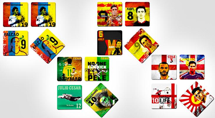 Football Merchandise Coasters @TheRoyaleIndia