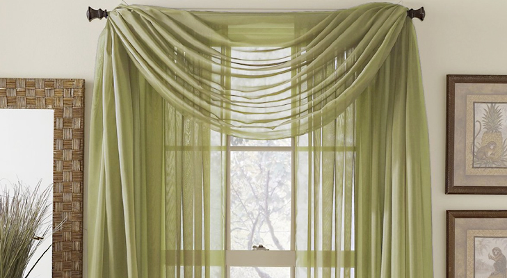 Dress your window with drapes @TheRoyaleIndia