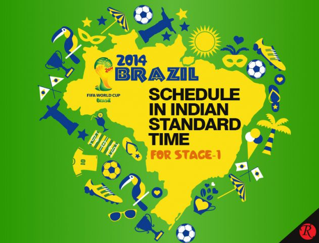 FIFA Schedule – Let's have a FIFA Blast @TheRoyaleIndia