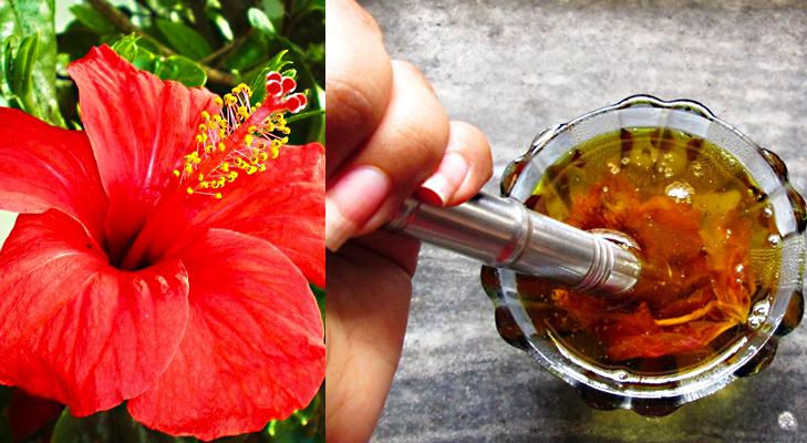 hibiscus paste @TheRoyaleIndia