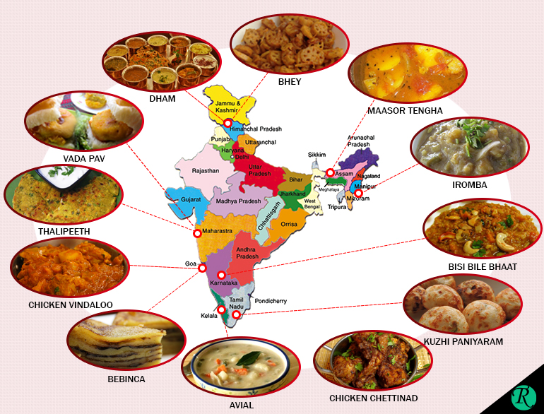 Lesser known dishes from india the royale Cuisines of india