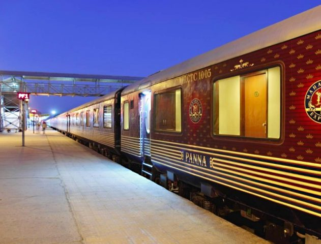 luxury train travel @TheRoyaleIndia
